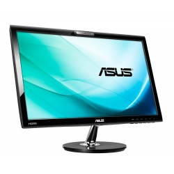 MONITOR  LCD 22 POLLICI  ASUS VK228H FULL HD LED 1920X1080  HDMIUSB WEBCAM BLACK