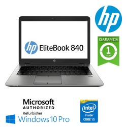 (REFURBISHED) Notebook HP EliteBook 840 G3 Core i5-6300U 2.4 GHz 8Gb 500Gb 14