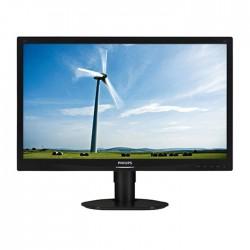 (REFURBISHED) Monitor PC LCD Philips 241S4 24 Pollici 1920x1080 FHD Wide VGA DVI Black